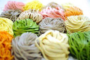 various noodles