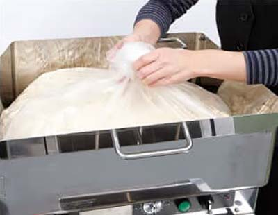 noodle making process - Letting the Dough Rest (First Aging Process)